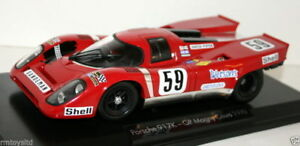 NOREV 1/18 - 187580J PORSCHE 917K DAVID PIPER RACING GP MAGNY COURS 1970