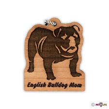 English Bulldog Mom Keychain key chain keys charm