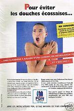 Publicité advertising 1996 PGN Professionnel Gaz Naturel
