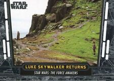 Star Wars 40th Anniversary Base Card #59 Luke Skywalker Returns