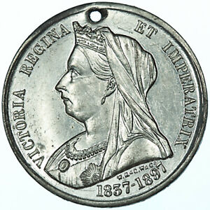 1897 Victoria Medal ~ Colchester ~ Golden Jubilee 50 Years