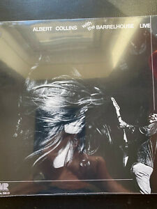ALBERT COLLINS with the Barrelhouse LIVE Vinyl LP new & sealed FREE POST IN UK