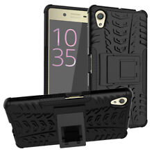 For Sony Xperia X Heavy Duty Armor Hybrid ShockProof Silicon Hard Case Cover