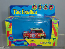 """Corgi Toys Modelo No.04440 """"The Beatles"""" psicodélico Mini MIB"""