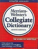 Webster's Ninth New Collegiate Dictionary by Merriam-Webster, Inc.