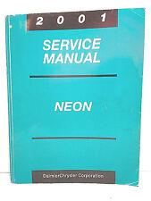 2001 OEM Factory SERVICE MANUAL NEON   PL 81-270-1025 Chrysler Corporation