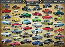 Eurographics PickUp Truck Evolution 1000 Piece Jigsaw EG60000681