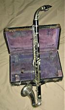 Vintage/Antique Wood Alto Clarinet – Henri Selmer, Paris ca. Late 1920s