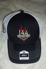 2018 Kentucky Derby 144 Official  Logo Cap  Black & white