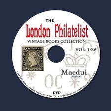 The London Philatelist 1892 – 1920 – 29 Volumes 24 PDF 1 DVD STAMPS Old Books