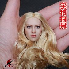 "KIMI TOYS 1:6 European American Female Headsculpt KT004 Girl Head For 12"" Figure"