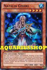 Yu-Gi-Oh! Natalia Gishki HA07-IT040 Super Rara ITA Carta Fortissima Zexal  Nuova