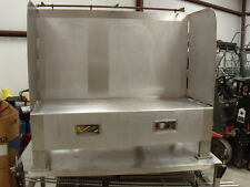 SS Stainless Steel Wash Table Sand Blast Parts Cleaning Etc Built in Air Line
