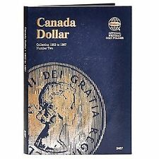 Whitman Coin Folder 2487 CANADA Dollar 1953-1967 Volume 2