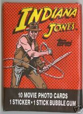 1984 Topps INDIANA JONES and the TEMPLE of DOOM Unopened Pack