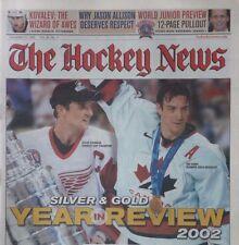(32) Issues - The Hockey News Volume 56 - 2002-2003 - Lemieux Yzerman Brodeur