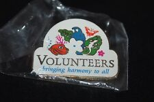 """VOLUNTEERS BRINGING HARMONY TO ALL PIN 1"""""""
