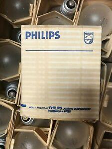 (2) PHILIPS 40A/TF 120V 40W 120V TUFF COAT MEDIUM BASE E26 A19 NEW OLD STOCK