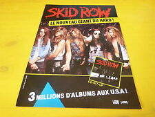 SKID ROW - !!!!!!!!!!!!!!!!!!FRENCH!!PUBLICITE / ADVERT