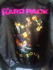 Vtg 90s 91 Joe Camel Cigarette Black Satin Jacket Mens L Hard Pack Us Tour Coat,