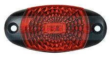 12V 24V Rosso Ovale Posteriore LED marker di posizione lampada/luce griglia camion furgone camion
