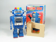 SH TOYS HORIKAWA - 1985 - Hard to find Sounding Robot avec boite - 26cm