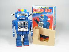 SH TOYS HORIKAWA - 1985 - Hard to find Sounding Robot avec boite - 26cm