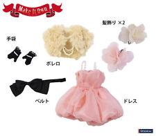 O-817 - MIO Pullip Doll Happiness Chiffon Dress Outfit Set  FREE SHIPPING