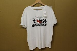 VW Retro 1950 Mens T-Shirt Large 7E2084200C New Genuine Merchandise Item