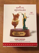 2015 Hallmark Keepsake DISNEY FANTASIA, 75th Anniversary MAGIC Ornament