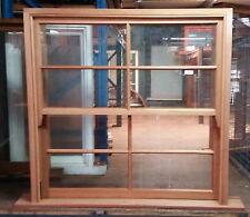 Timber windows - 8 Light Double hung Window - 1195h x 1205w - Sash Windows