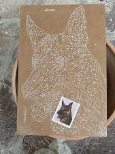 NUOVO Tavola Tavoletta legno compensato prestampata hobby mod cane