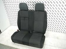 07 MERCEDES SPRINTER Left Passengers Side Front Double Seat In Black Cloth 06-14
