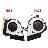 NEW CPU fan & GPU Fan for Asus Zephyrus ROG GU502 GU502D GU502DU DC5V radiator