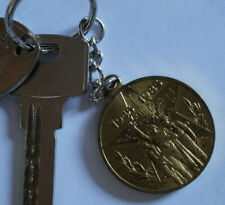 Schlüsselanhänger Schlüsselring Keyring ORIGINAL UdSSR soviet Medaille брелок
