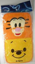 Winnie the Pooh Tigger Face Cloth Mini Towel Flannel Disney Japan RARE figure