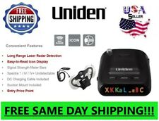 Uniden Radar Detector Police Laser Long Range Suction Cups Mount Detectors Cobra