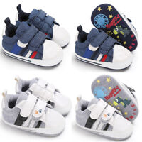 KA Toddler Pre Walker Sneakers Baby Boy Girl Sofe Sole Pram Shoes Newborn to 18M