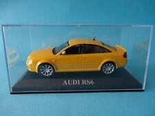 AUDI RS6 - YELLOW / AMARILLO - 1/43 NEW IXO ALTAYA DREAM CARS