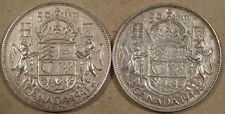 Canada 1941 +46 Fifty Cents or Half Dollar VF-XF as Pictured