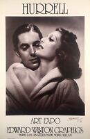 George Hurrell, Young and Power, hand signed, Ltd. Ed. photolithograph