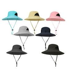 Men Women Sun Hat Bucket Wide Brim Fishing Hiking Caps UV Protection Boonie Hat
