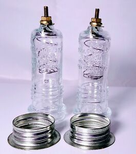 (2) Neon Sign Glass Housing #200 spring Insulator connector NEON Parts repair