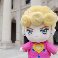 JoJo's Bizarre Adventure Giorno Giovanna Plush Doll Stuffed Kids Toy Anime Gift