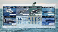 Gambia 2012 - Whales Stamp Sheet of 6 MNH