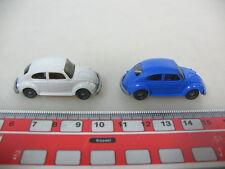 H940-0,5# 2x WIKING H0 Modelle VW Käfer 1303/1300 s.g.