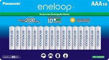 Panasonic Eneloop AAA 16 Pack New 2100 Cycle 800 mAH AAA Pre-Charged Batteries