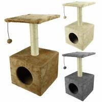 Pet Cat Kitten Scratching Post Climbing Tree Play Furniture Bed Rest Platform