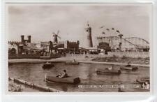 A CORNER OF THE PLEASURE BEACH, SOUTHPORT: Lancashire postcard (C34950)