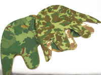 2PCS Reversible Vietnam War M1 Mitchell + USMC M1 Pacific Camo Helmet cover